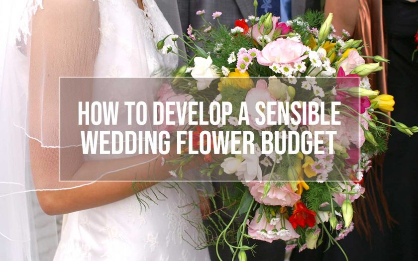 wedding flower budget