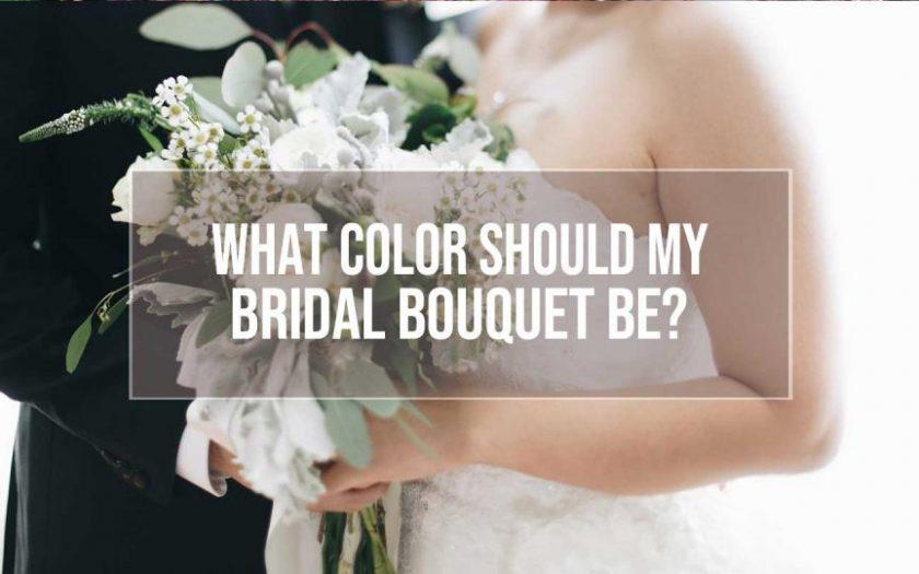 bridal bouquet color