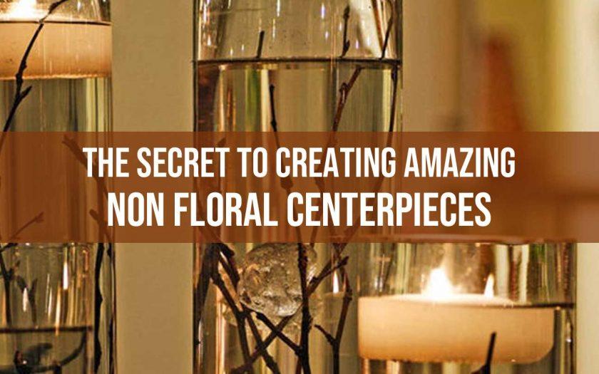 non floral centerpieces