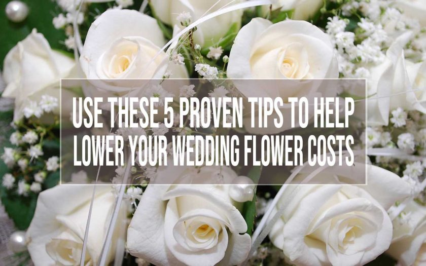 wedding flower costs