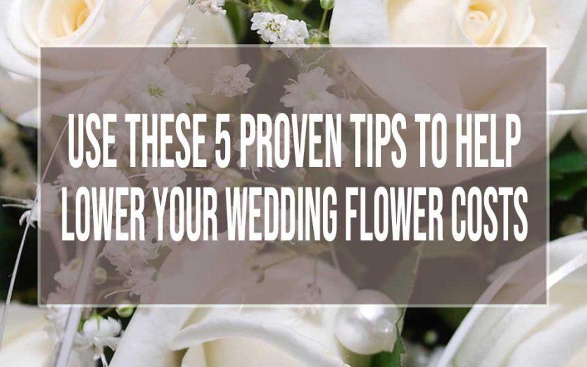 wedding flower costs