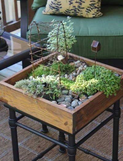 Miniature Garden Table