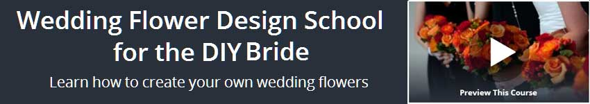 Wedding Flower Design School