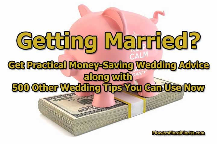 money-saving wedding advice