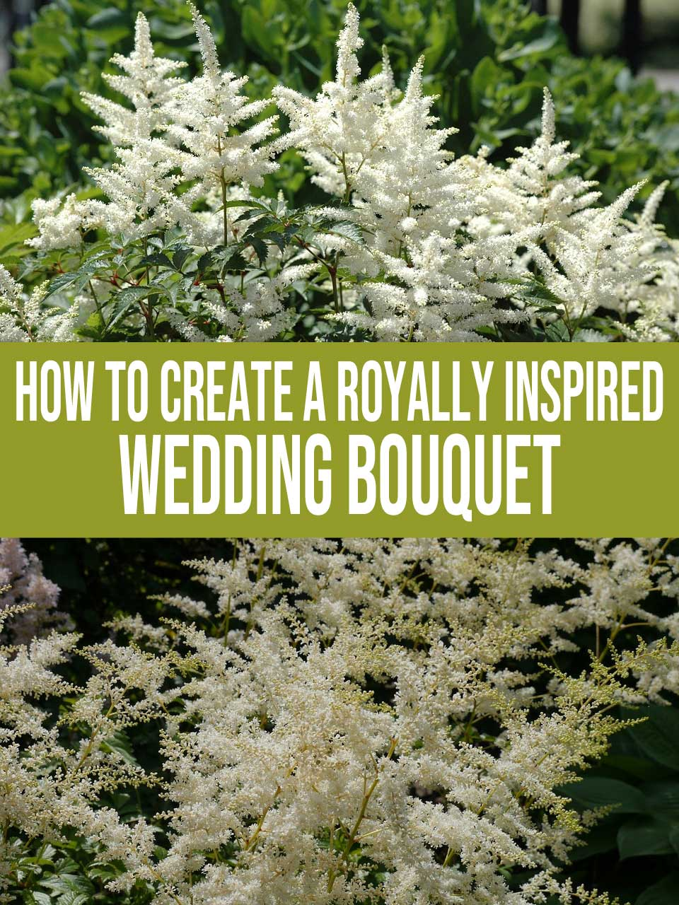 royally inspired wedding bouquet