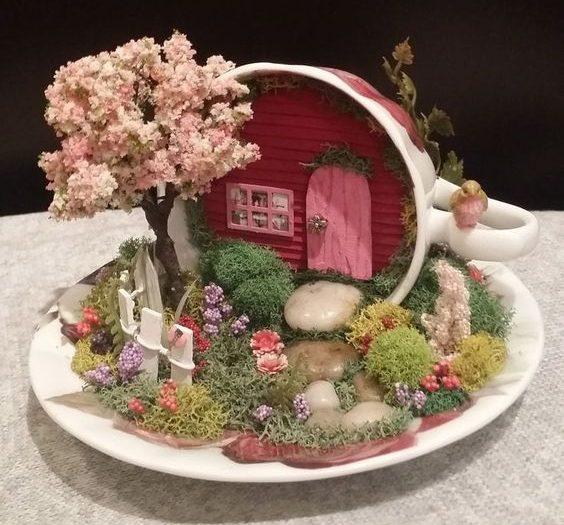 miniature garden accessories