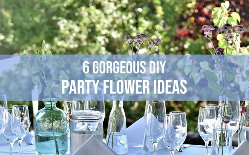 party flower ideas