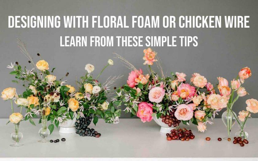 Floral Foam or Chicken Wire