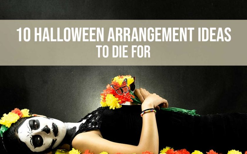 halloween-arrangement ideas