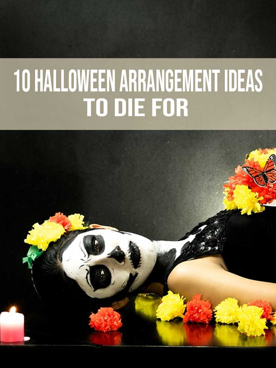 Halloween Arrangement Ideas