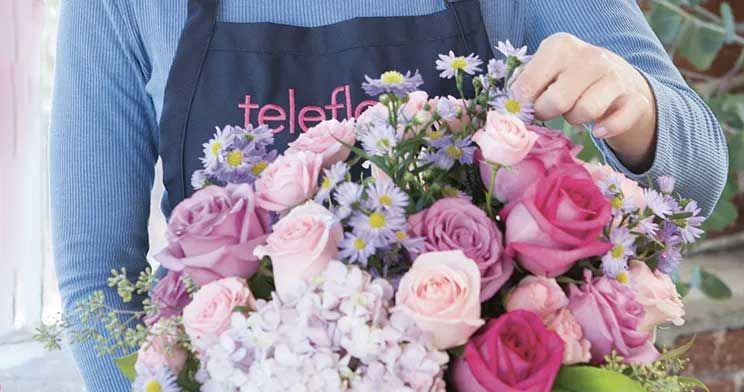 flower deals from Teleflora