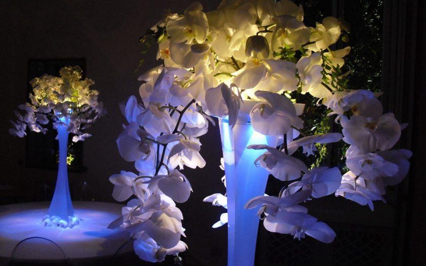 lighted wedding centerpieces